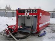 Пожар-спасательных автомобилей и чаевые